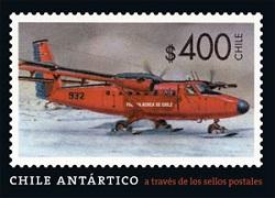 CHILE ANTARTICO A TRAVES DE LOS SELLOS POSTALES, 9789563160345