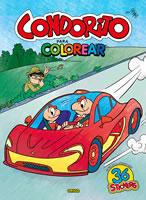 CONDORITO AUTOS PARA COLOREAR, 9789563164350